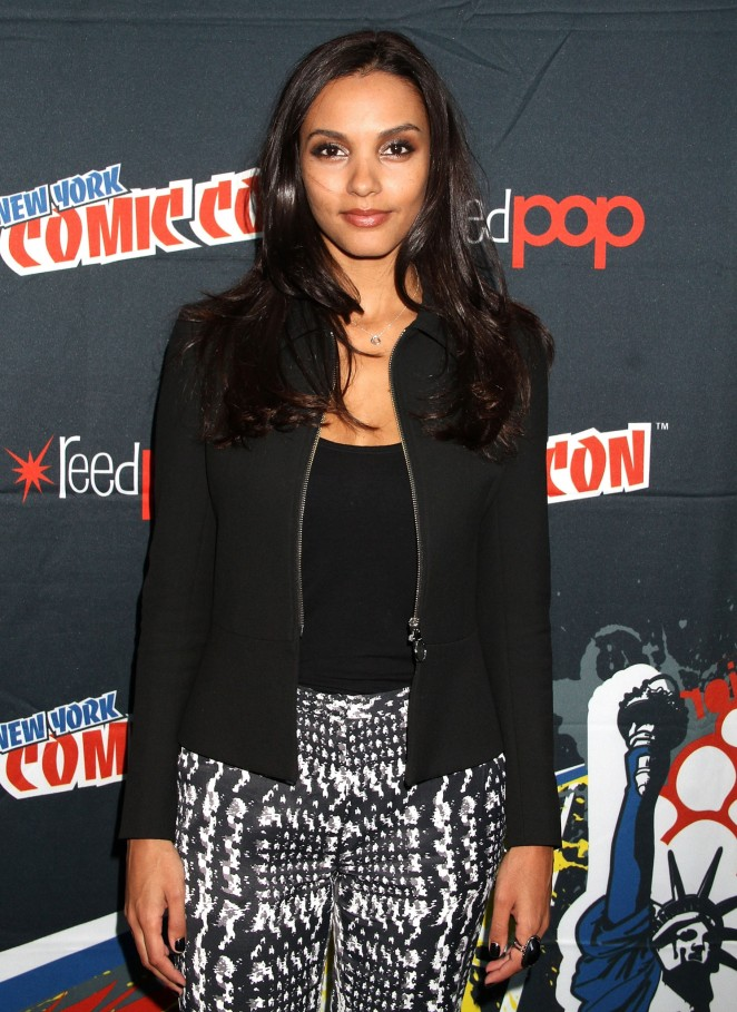 Jessica Lucas - New York Comic Con 2015 - Day 4 in NYC