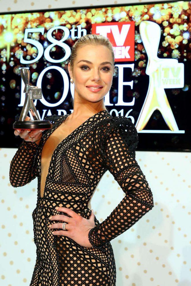 Jessica Marais - 58th Annual Logie Awards in Melbourne