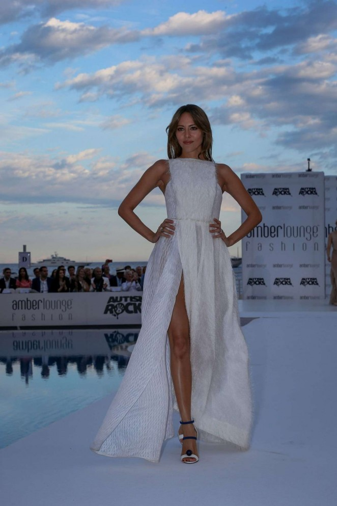 Jessica Michibata - Amber Lounge Fashion Show 2015 in Monaco