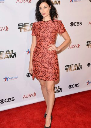 Jessica Pare - 'Seal Team' Season 2 Premiere in Los Angeles