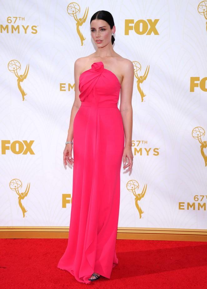 Jessica Pare - 2015 Emmy Awards in LA