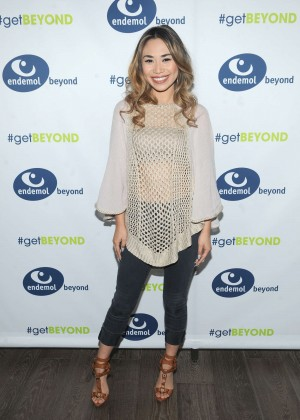 Jessica Sanchez - Endemol Beyond NewFronts 2015 in NYC
