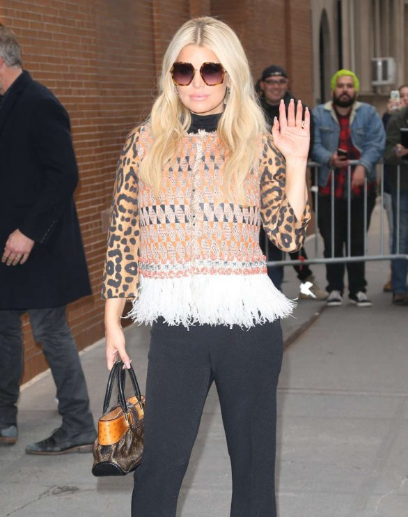 Jessica Simpson - Arrives at The View in New York