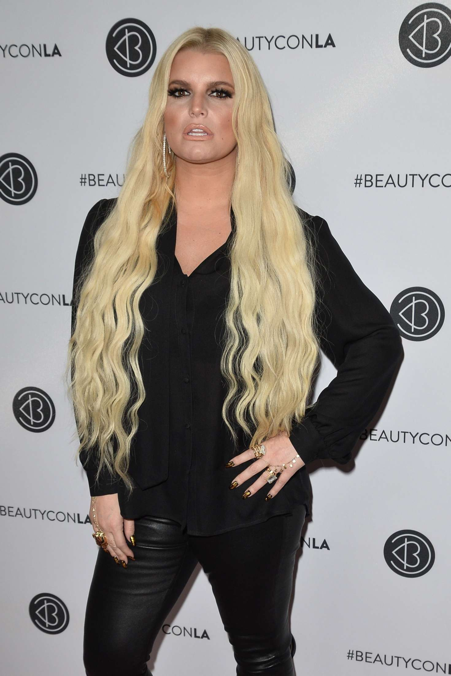 Jessica Simpson - Beautycon Festival Day 1 in Los Angeles