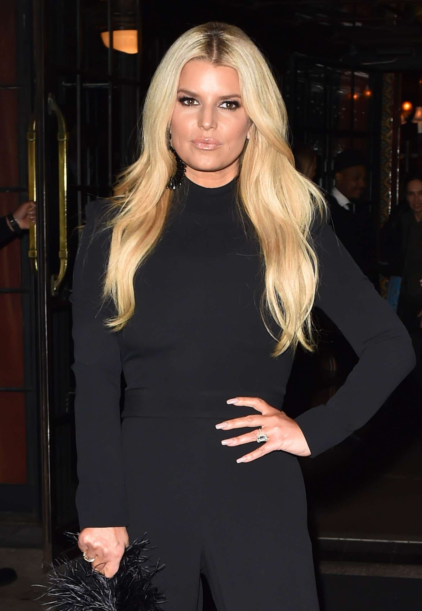 Jessica Simpson 2020 : Jessica Simpson – Leaves the Bowery hotel in New York-05