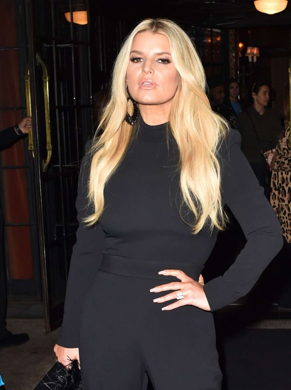 Jessica Simpson - Leaves the Bowery hotel in New York