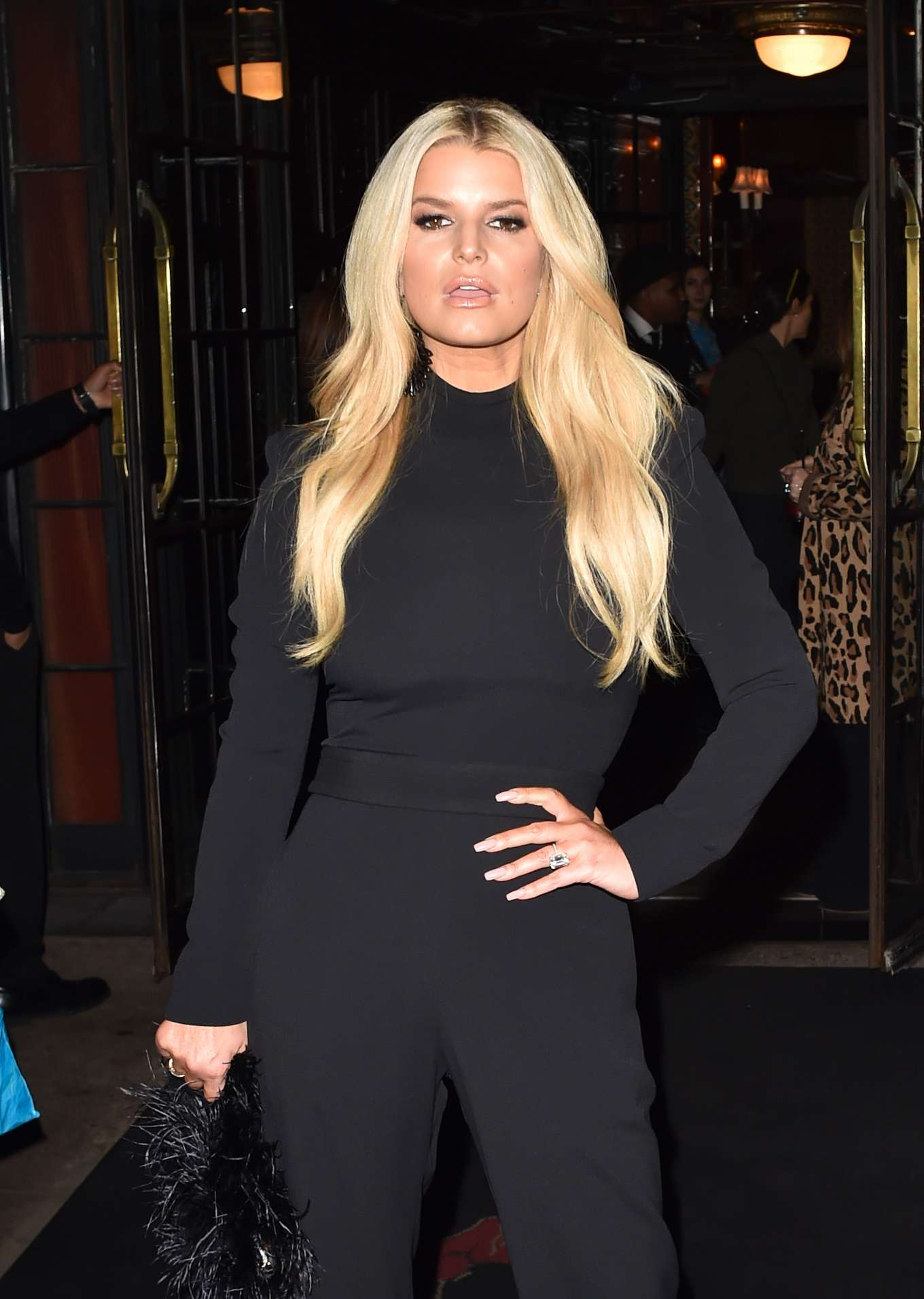 Jessica Simpson 2020 : Jessica Simpson – Leaves the Bowery hotel in New York-08