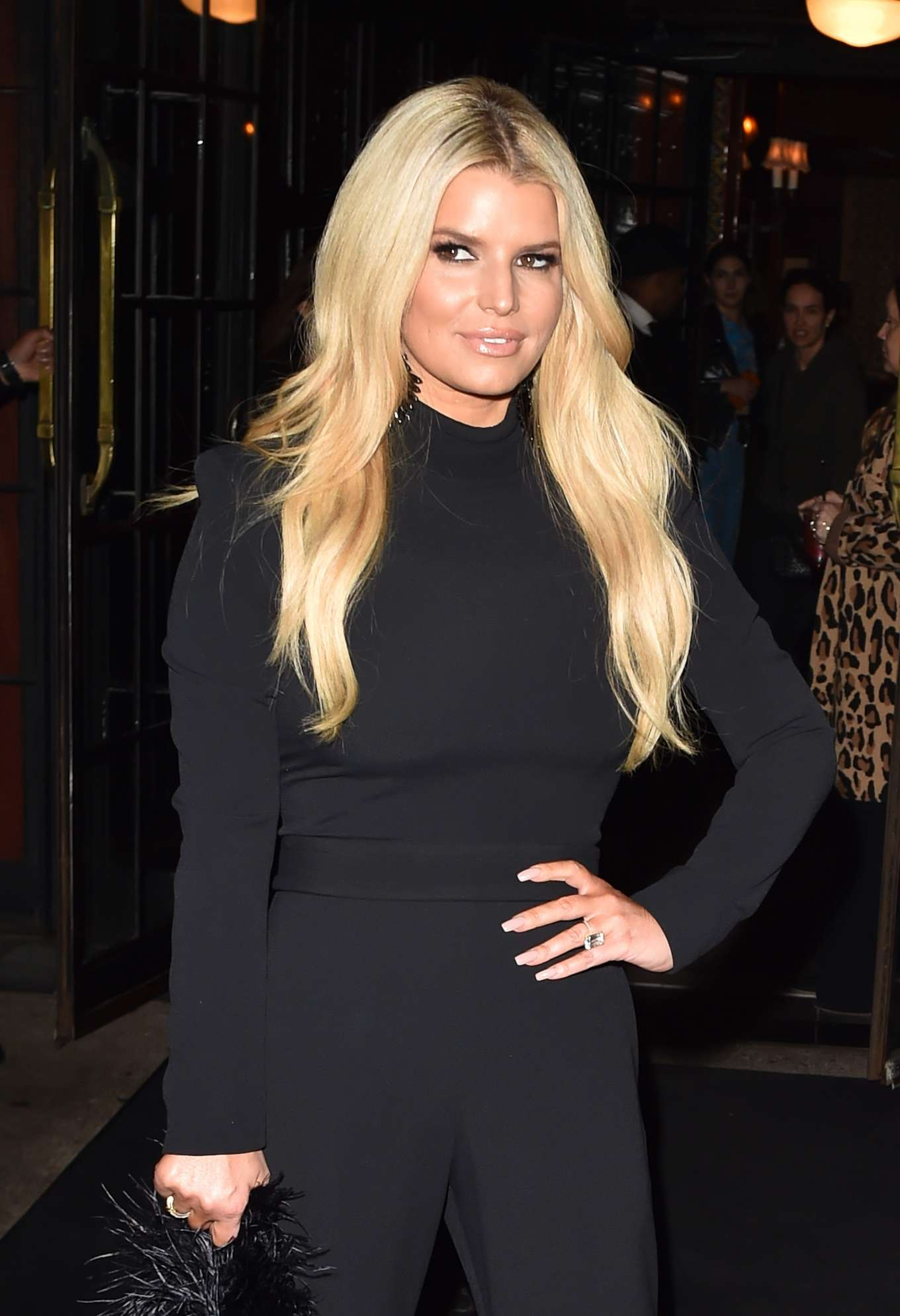 Jessica Simpson 2020 : Jessica Simpson – Leaves the Bowery hotel in New York-09