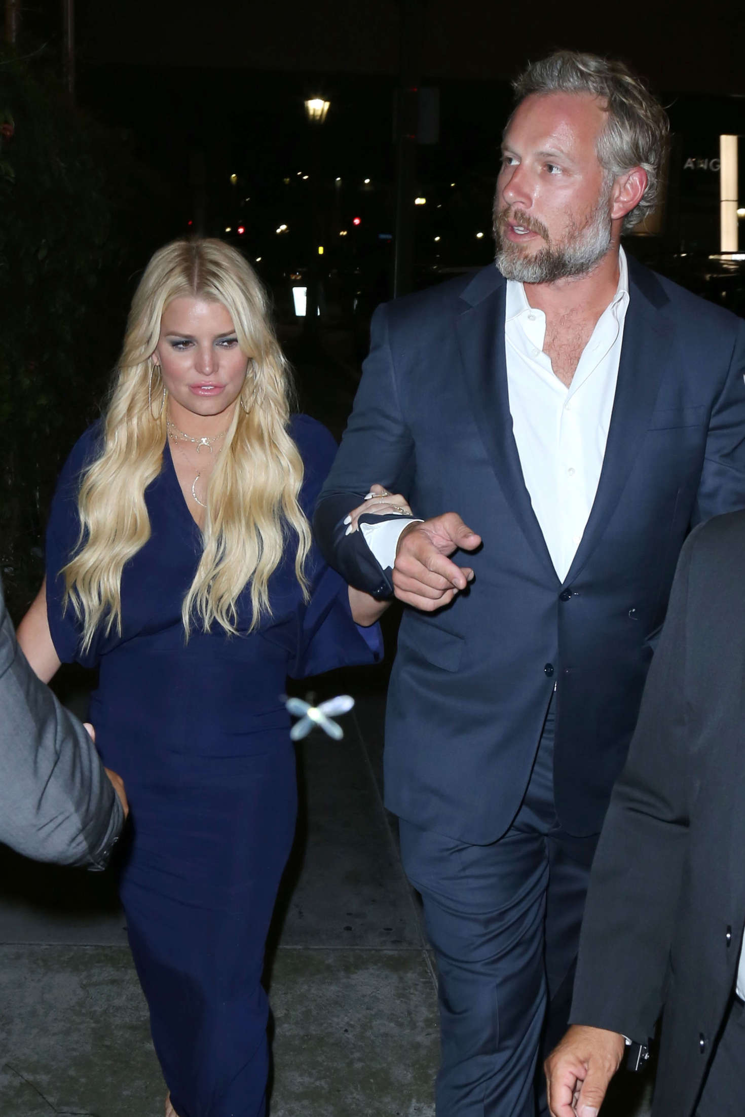 Jessica Simpson - Leaves the 'Gleason' Premiere in Los Angeles