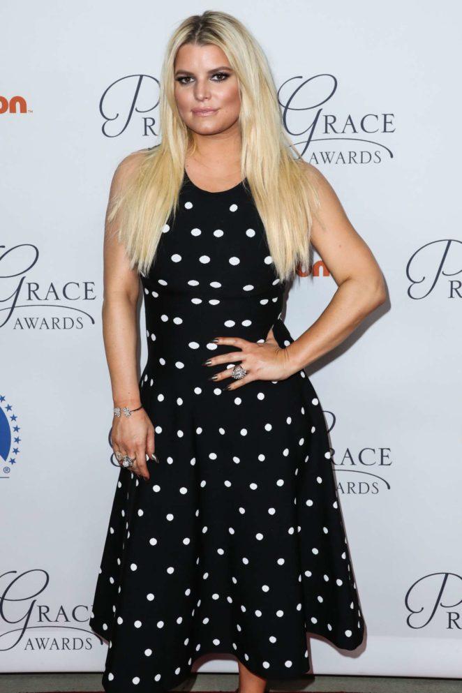 Jessica Simpson - Princess Grace Awards Gala Kickoff Event in LA