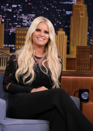 Jessica Simpson - 'The Tonight Show Starring Jimmy Fallon' in NYC