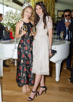 Jessica Song and Molly Gay - Moet Chandon Race Day Party in Sydney