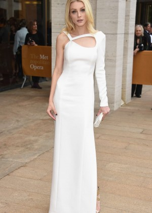 Jessica Stam - 2015 Anniversary Diamond Jubilee Spring Gala in NYC