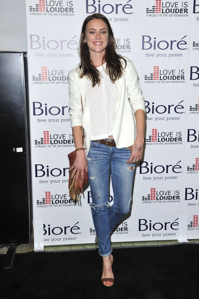 Jessica Stroup - Biore Skincare Love Is Louder Project Event in LA