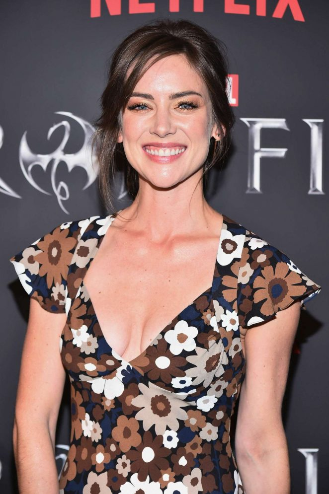 Jessica Stroup - 'Iron Fist' TV Series Premiere in New York
