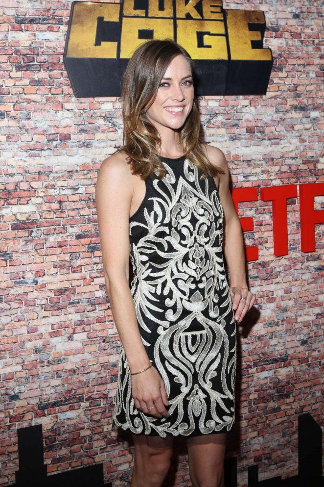 Jessica Stroup - 'Luke Cage' Premiere in New York