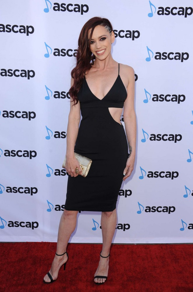 Jessica Sutta - 33rd Annual ASCAP Pop Music Awards in Hollywood