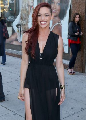 Jessica Sutta at El Rey Theatre in Beverly Hills