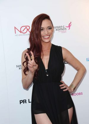 Jessica Sutta - Babes For Boobs Live Bachehelor Auction For Breast Cancer Research in LA