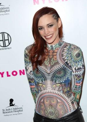 Jessica Sutta - NYLON Magazine's Muses And Music Party in LA