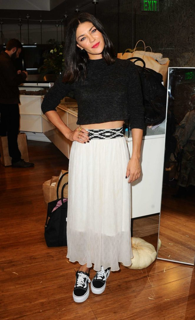 Jessica Szohr - Bollare Holiday Harvest x Timberland Fall Style Event in Beverly Hills