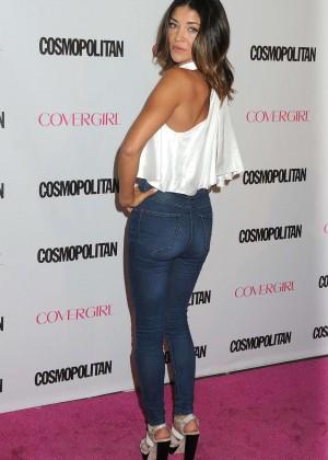Jessica Szohr - Cosmopolitan's 50th Birthday Celebration in West Hollywood