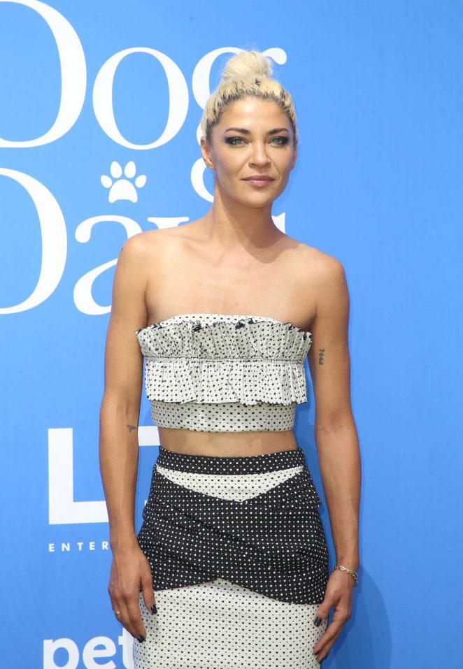 Jessica Szohr – 'Dog Days' Premiere in Los Angeles