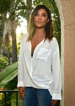 Jessica Szohr - KEEP Collective Accessories Social To Benefit The Kind Campaign in LA