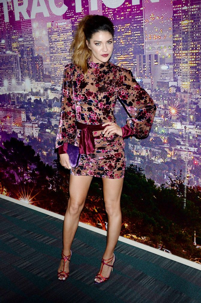 Jessica Szohr – LA Art Show Opening Night Gala in Los Angeles