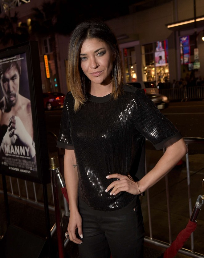 "Jessica Szohr - ""Manny"" Premiere in Hollywood"