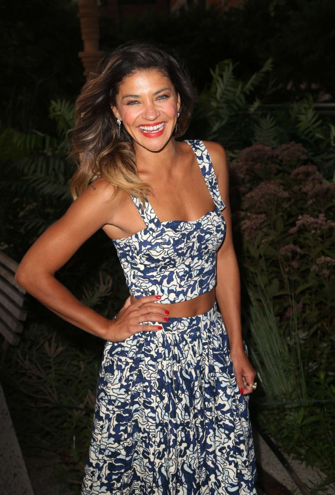 Jessica Szohr – People StyleWatch Fall Fashion Party 2015 in NY