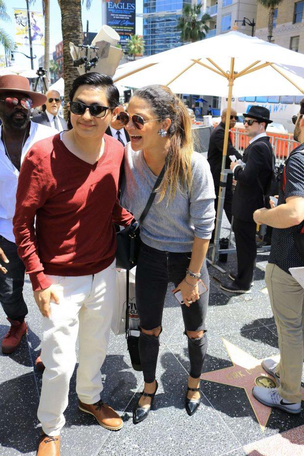 Jessica Szohr - Seth MacFarlane's Walk of Fame event in Hollywood