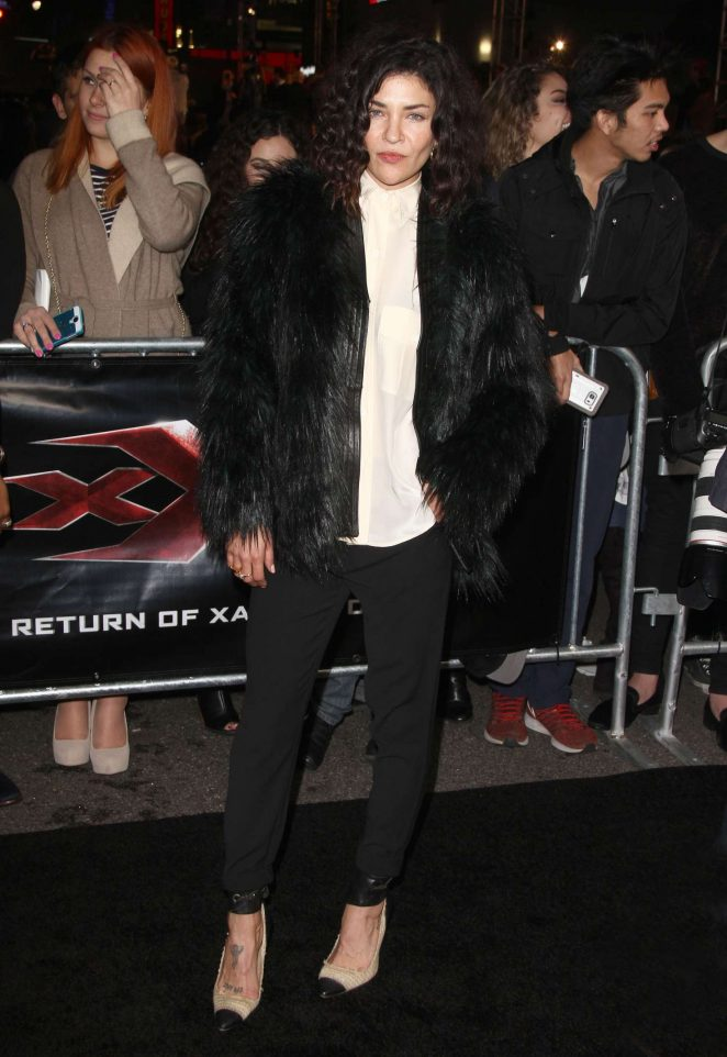 Jessica Szohr - 'xXx: Return of Xander Cage' Premiere in Los Angeles