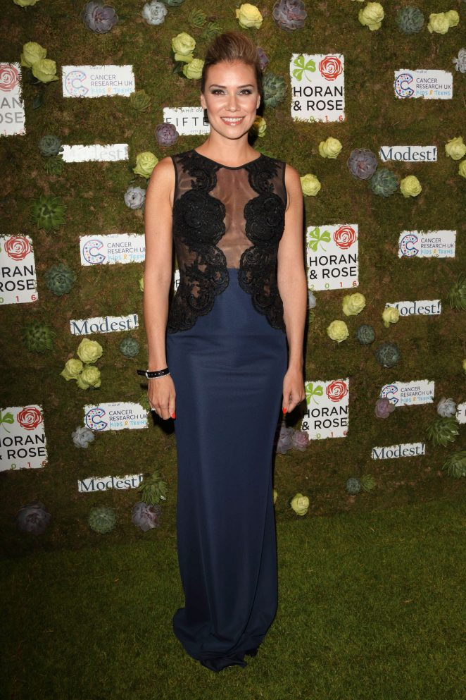 Jessica Taylor - Horan and Rose Charity Gala Dinner in Watford