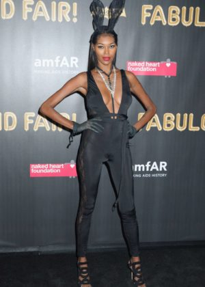 Jessica White - 2017 amfAR Fabulous Fund Fair in NYC
