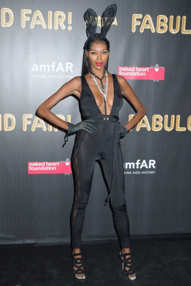 Jessica White – 2017 amfAR Fabulous Fund Fair in NYC