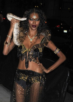 Jessica White - Heidi Klum Halloween Party 2015 in NY