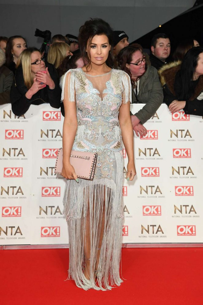 Jessica Wright - 2017 National Television Awards in London