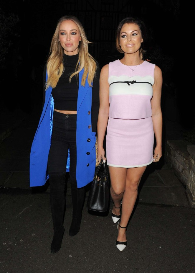 Jessica Wright and Lauren Pope Night Out at Sheesh in Chigwell