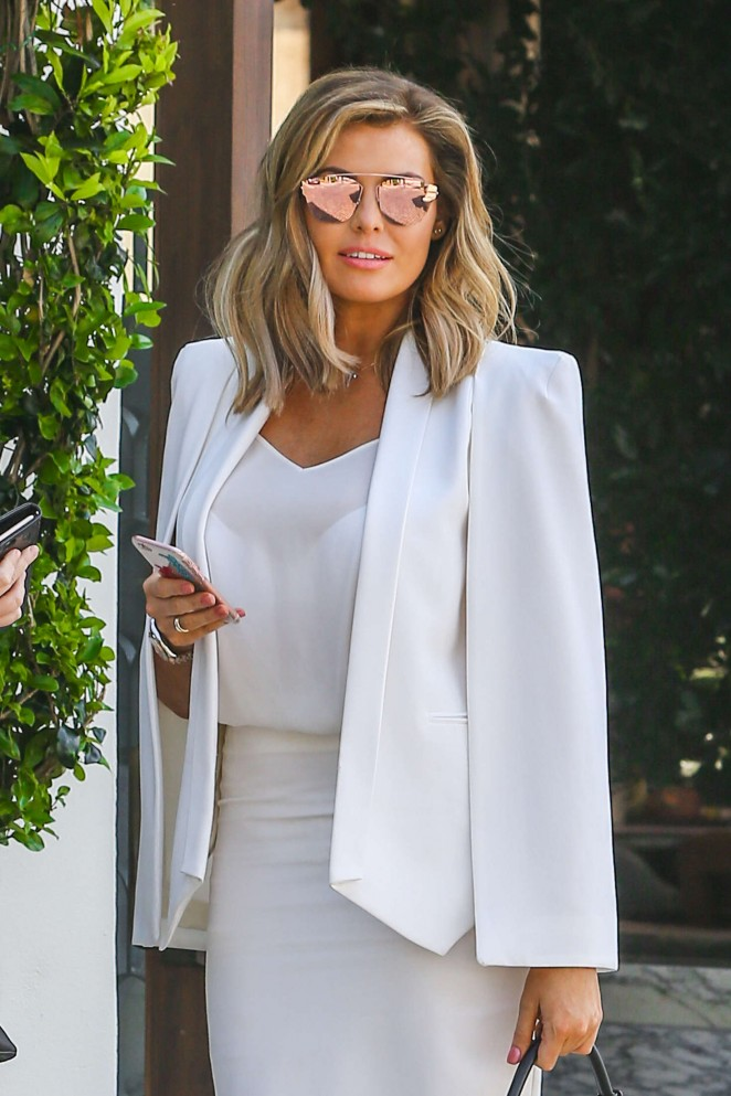 Jessica Wright - Arrives to a business meeting in West Hollywood