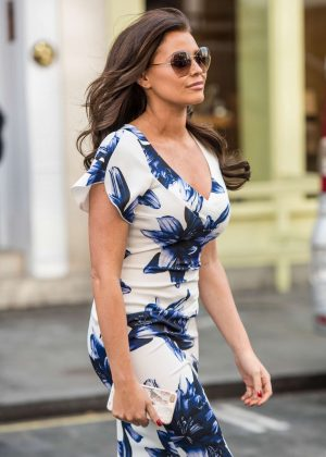 Jessica Wright at a photoshoot in Chelsea