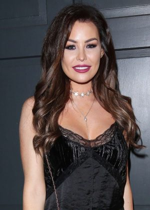 Jessica Wright - Attend Vas J Morgans Birthday Party in London