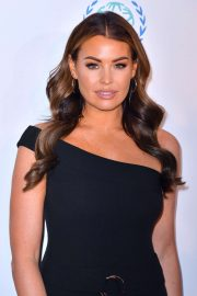 Jessica Wright - Football for Peace dinner photocall in London