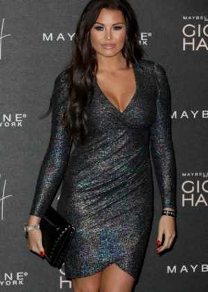 Jessica Wright - Gigi x Maybelline VIP Party in London