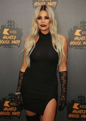 Jessica Wright - KISS Haunted House Party in London