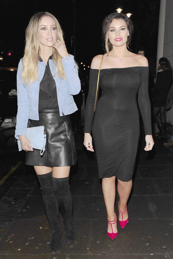 Jessica Wright & Lauren Pope at Ramusake in London