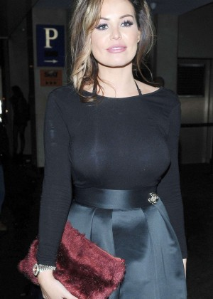 Jessica Wright - Leaves the Drama Nightclub in London
