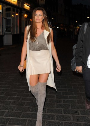 Jessica Wright - Leaving The Style For Stroke T-Shirt Launch Party in London