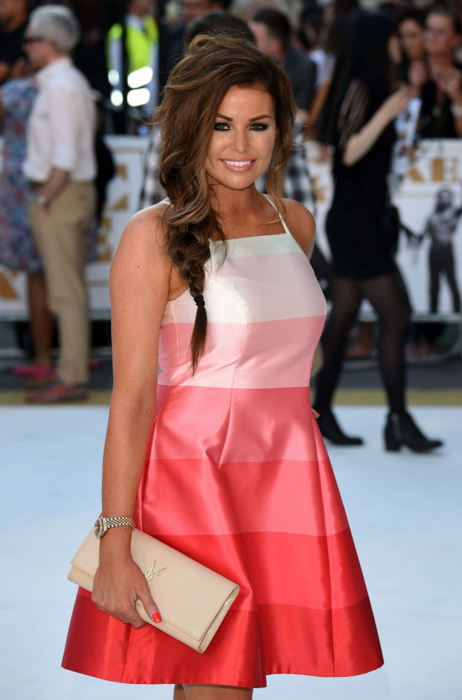 Jessica Wright - 'Magic Mike XXL' Premiere in London