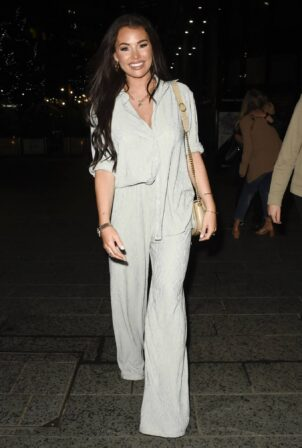 Jessica Wright - Night out at the Ivy in Manchester